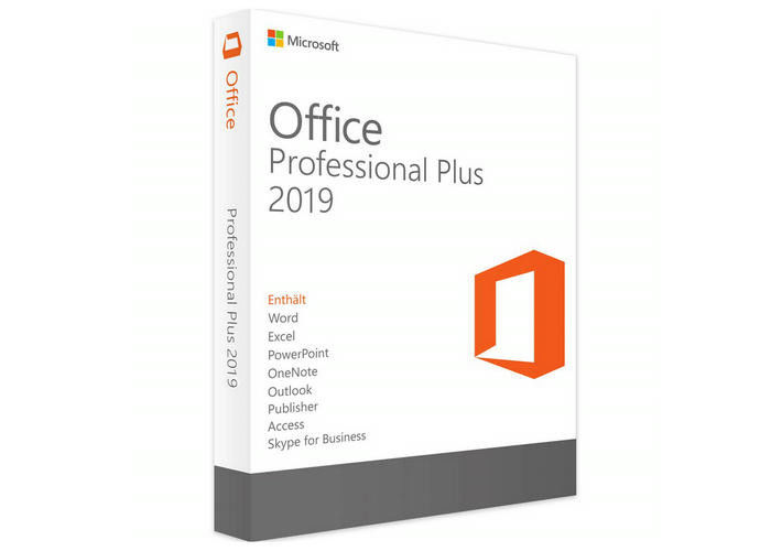 Digitale Microsoft Windows-Software/Microsoft Office-Beroeps plus 2019 leverancier